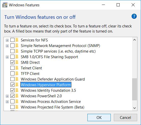 Adding-Windows-Hypervisor-Platform