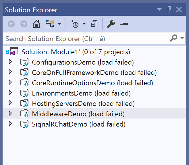 "Visual Studio error: ""The project file cannot be opened by the project system, because it is missing some critical imports or the referenced SDK cannot be found."""
