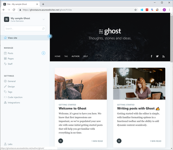 How I have moved my blog to Ghost